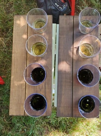 Group Flight Tasting - Weekend of Aug 7-Aug 9 (up to four people)
