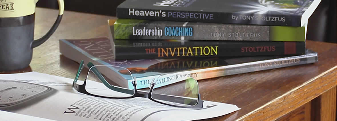 Home page coaching books banner