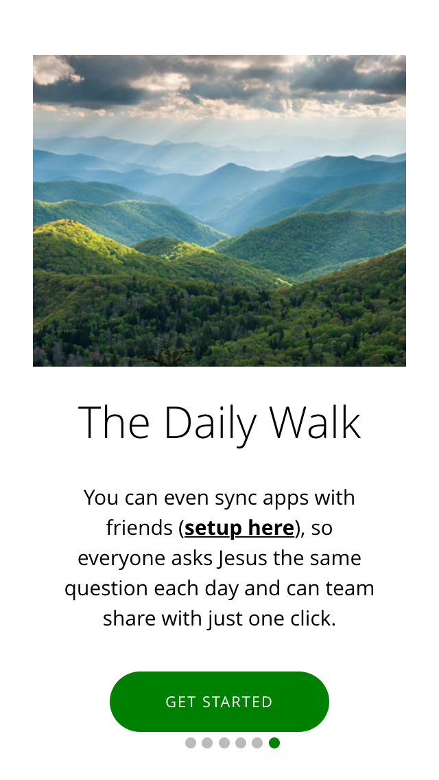 Questions for Jesus App