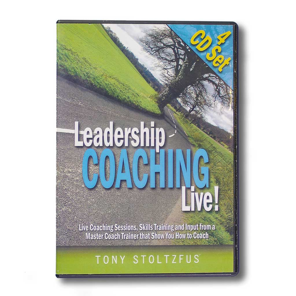 Leadership Coaching Live with Tony Stoltzfus (Streaming Audio)