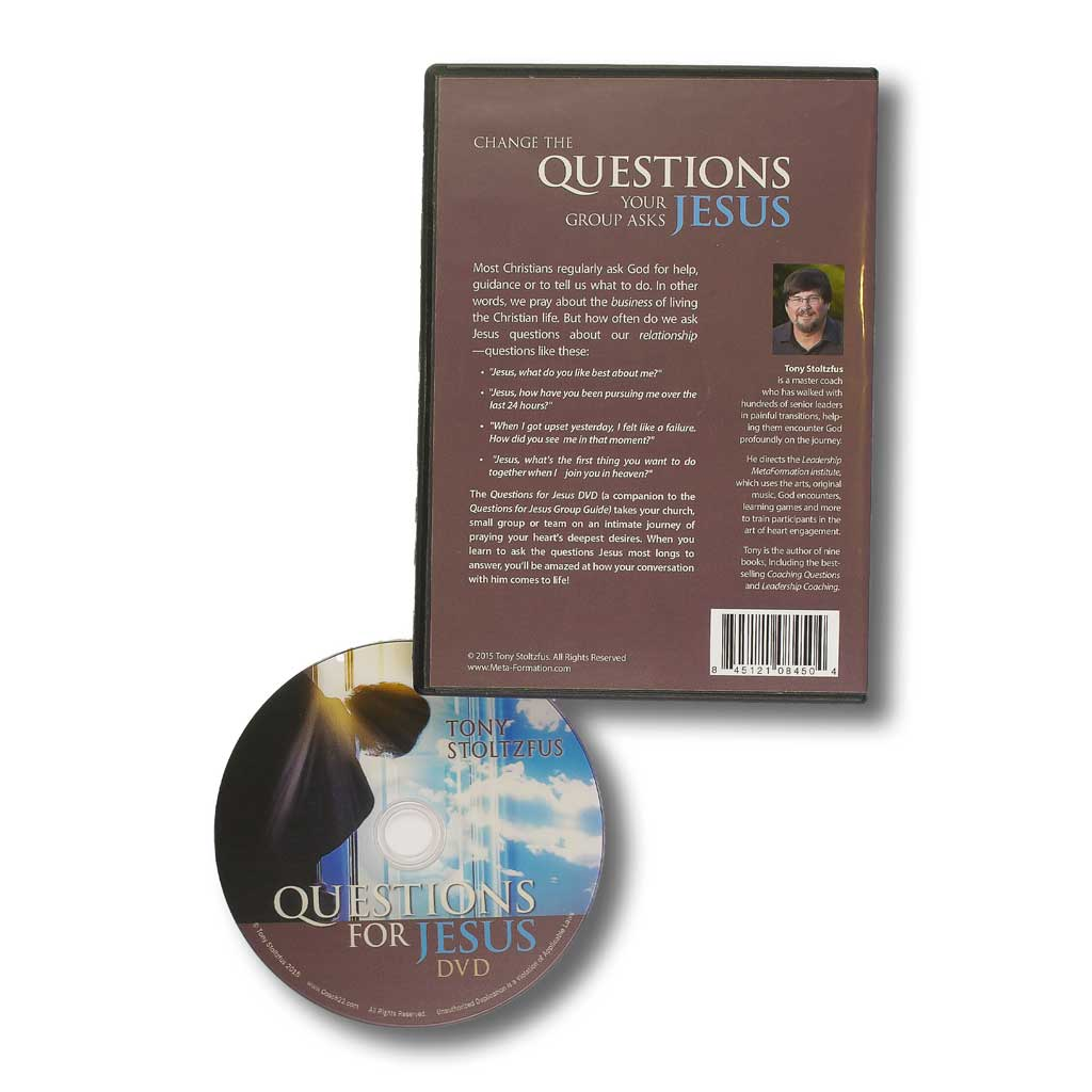 The Questions for Jesus DVD