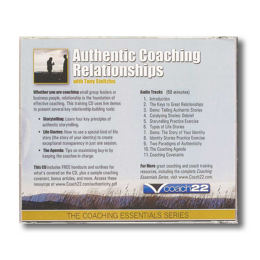 Authentic Coaching Relationships