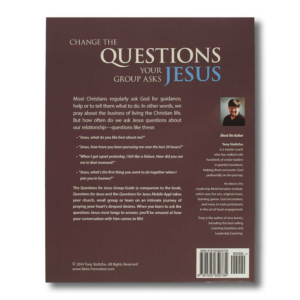 Questions for Jesus Group Guide (download)