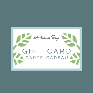 Ambiance Sage Gift Card - Instant Digital