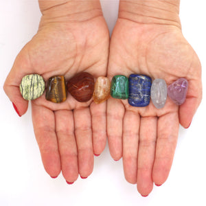 Chakra Balancing Crystals Kit - Reiki Infused