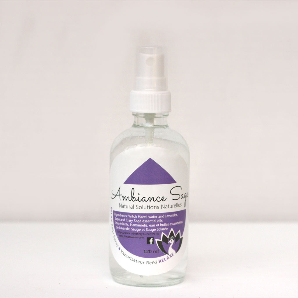Relax - Reiki Sage Spray