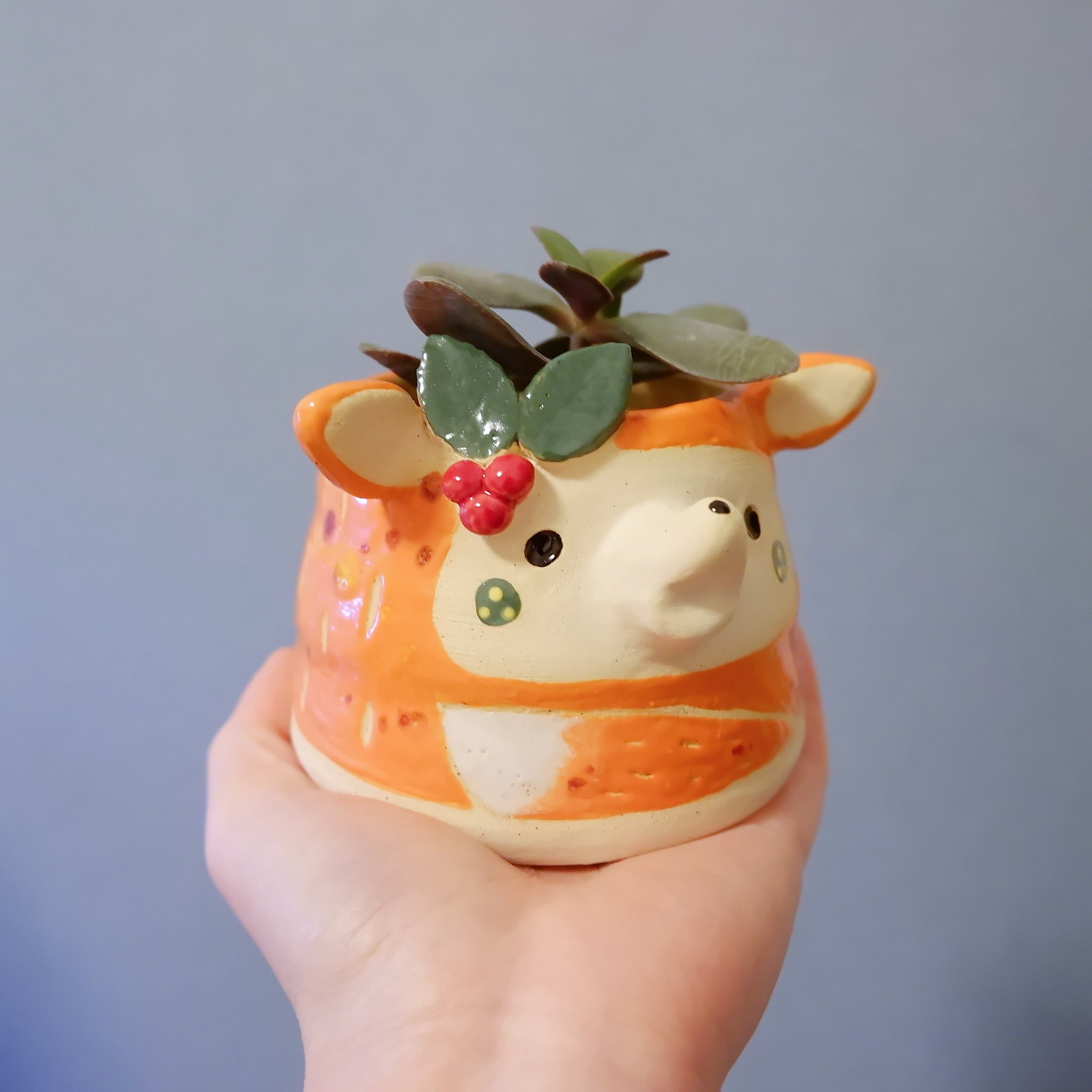 Christmas Felix the Fox Pot (LTD)