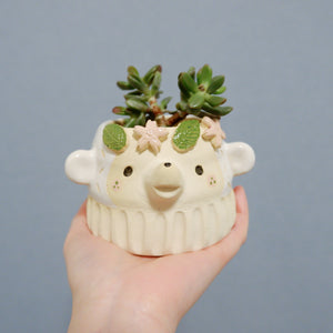 Sakura Queen Vintage Bear Pot (OT)