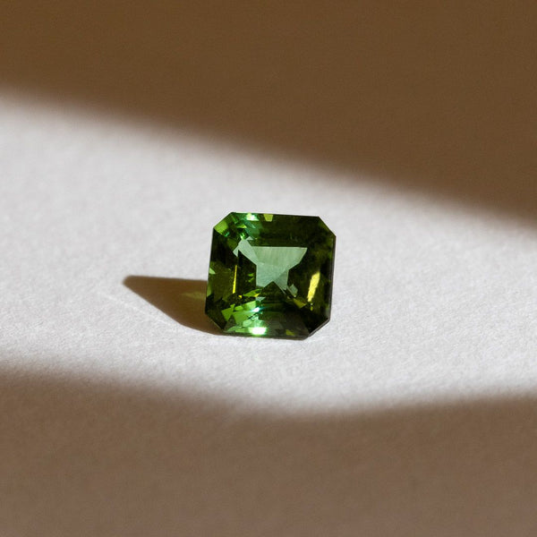 Create Your Ring - 1.02ct Asscher Cut Tourmaline