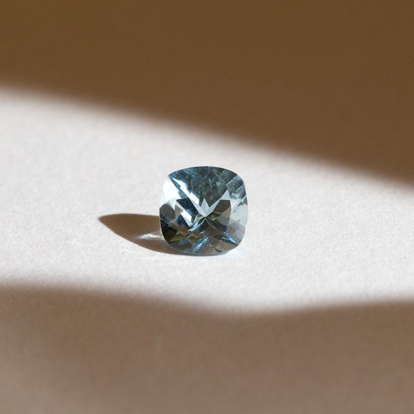 Create Your Ring - 1.34ct Cushion Cut Aquamarine