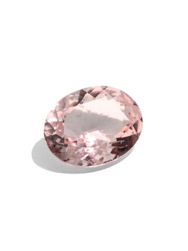 Create Your Ring - 1.54ct Oval Cut Morganite