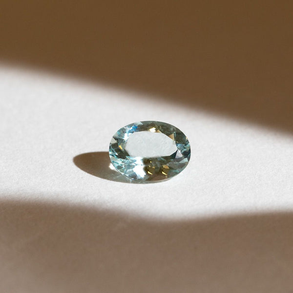 Create Your Ring - 1.56ct Oval Cut Aquamarine