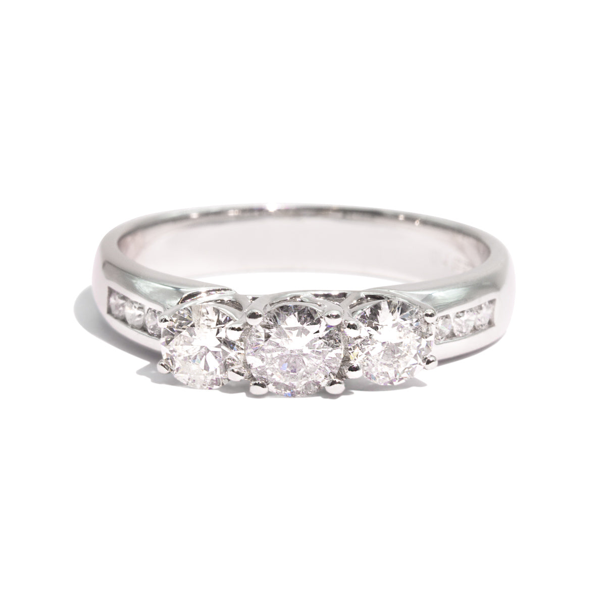 The Lucy Vintage Diamond Ring