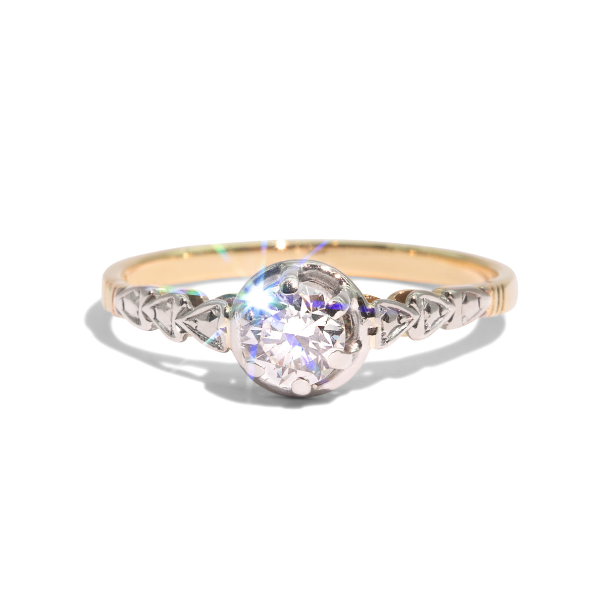 The Marisa Vintage Diamond Ring