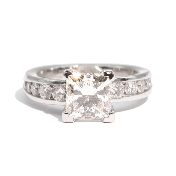 The Verity Vintage Diamond Ring