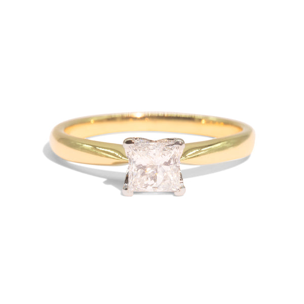 The Silvia Vintage Diamond Ring