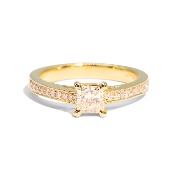 The Kira Vintage Diamond Ring