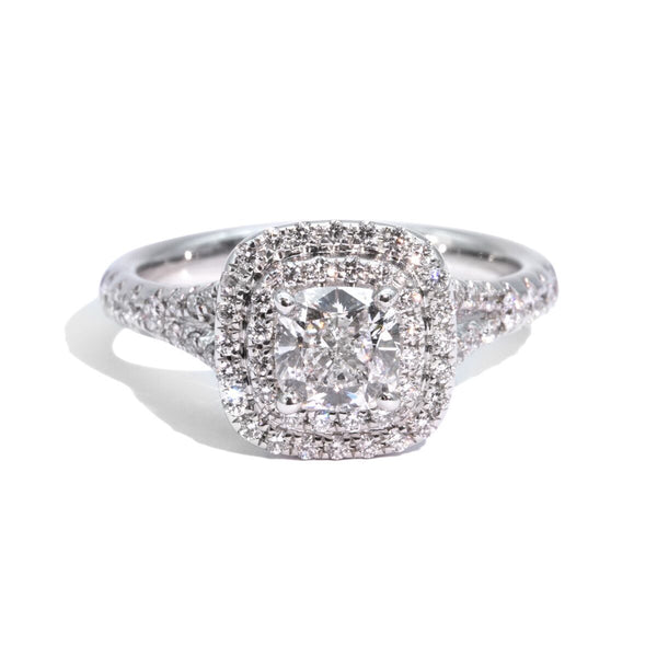 The Celeste Vintage Diamond Ring