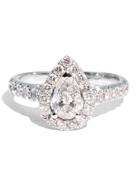 The Tia Vintage Diamond Ring