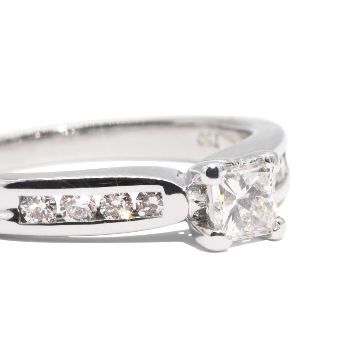 The Saint Vintage Diamond Ring