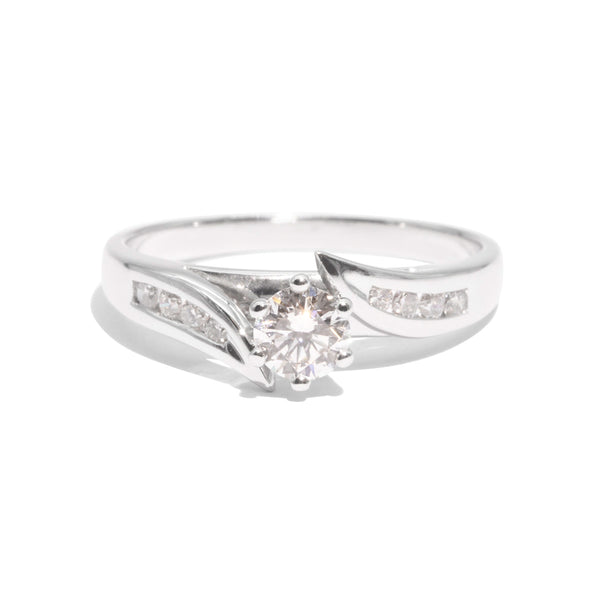 The Estelle Vintage Diamond Ring