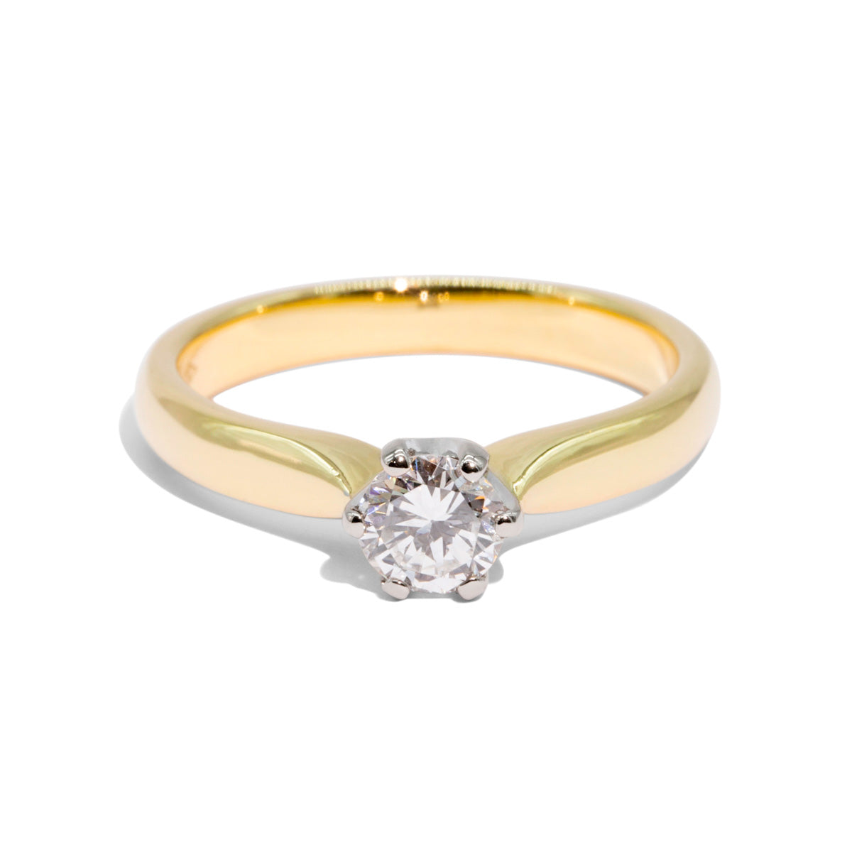 The Cecile Vintage Diamond Ring