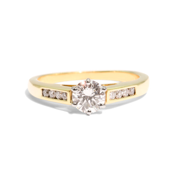 The Jessa Vintage Diamond Ring