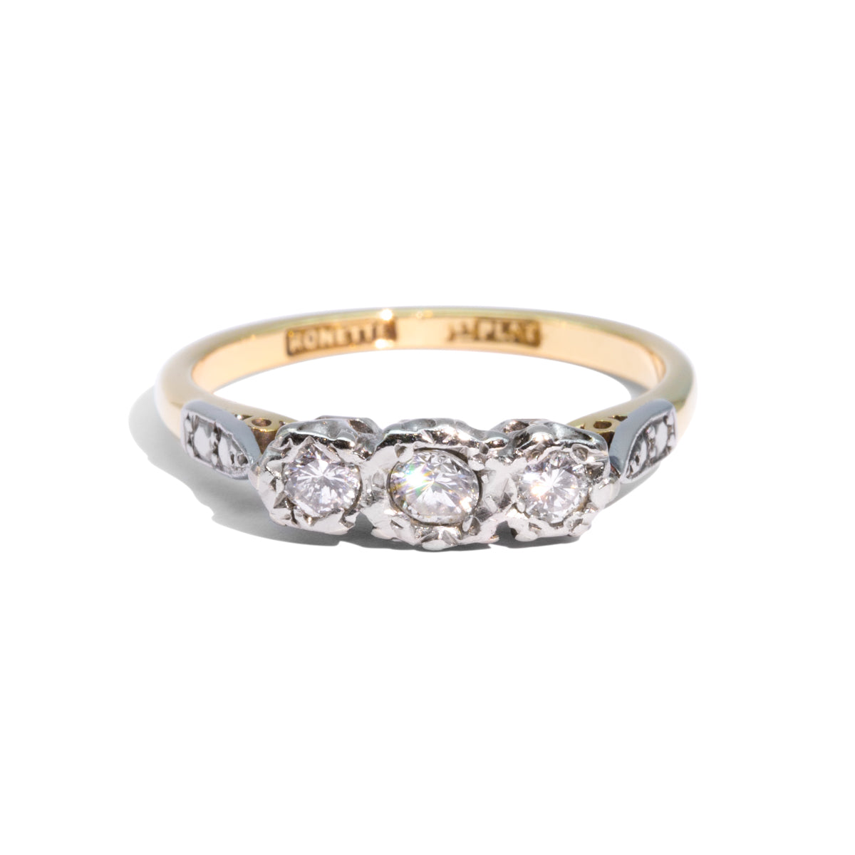 The Kennedy Vintage Diamond Ring