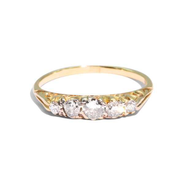 The Joanne Vintage Diamond Ring