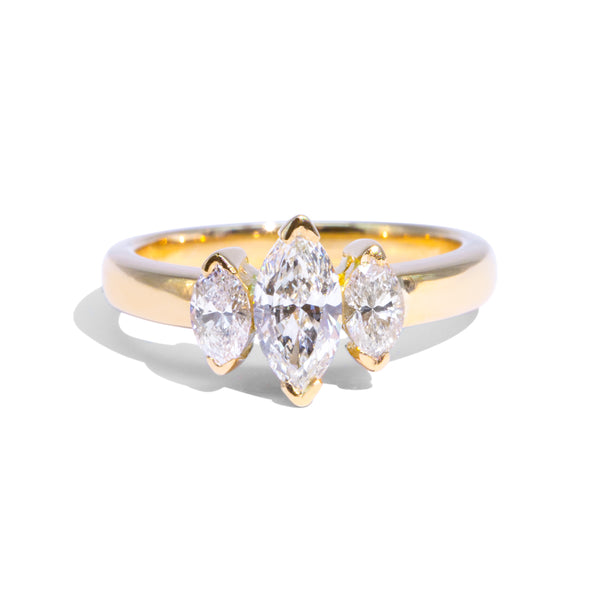 The Sade Vintage Diamond Ring