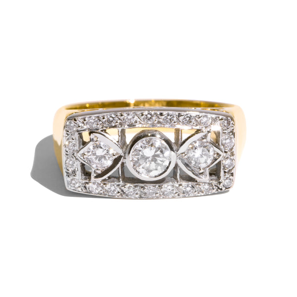The Maeve Vintage Diamond Ring