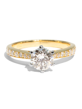 The Charlotte Vintage Diamond Ring