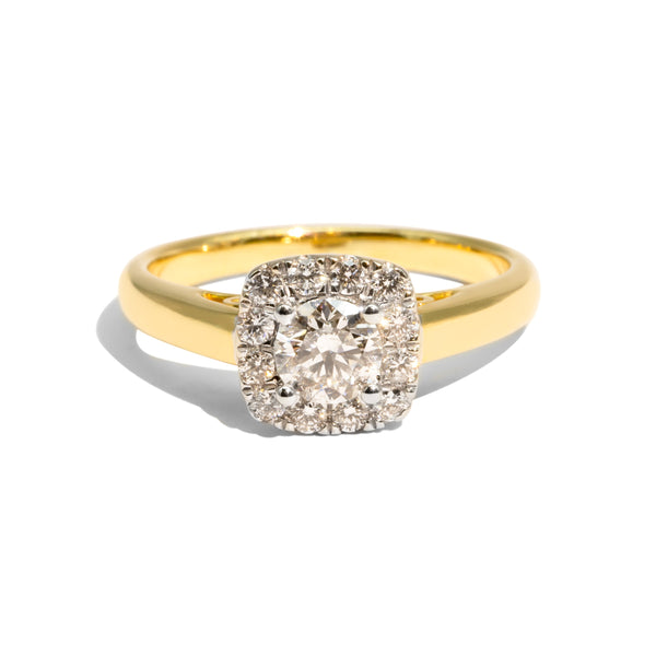 The Frances Vintage Diamond Ring
