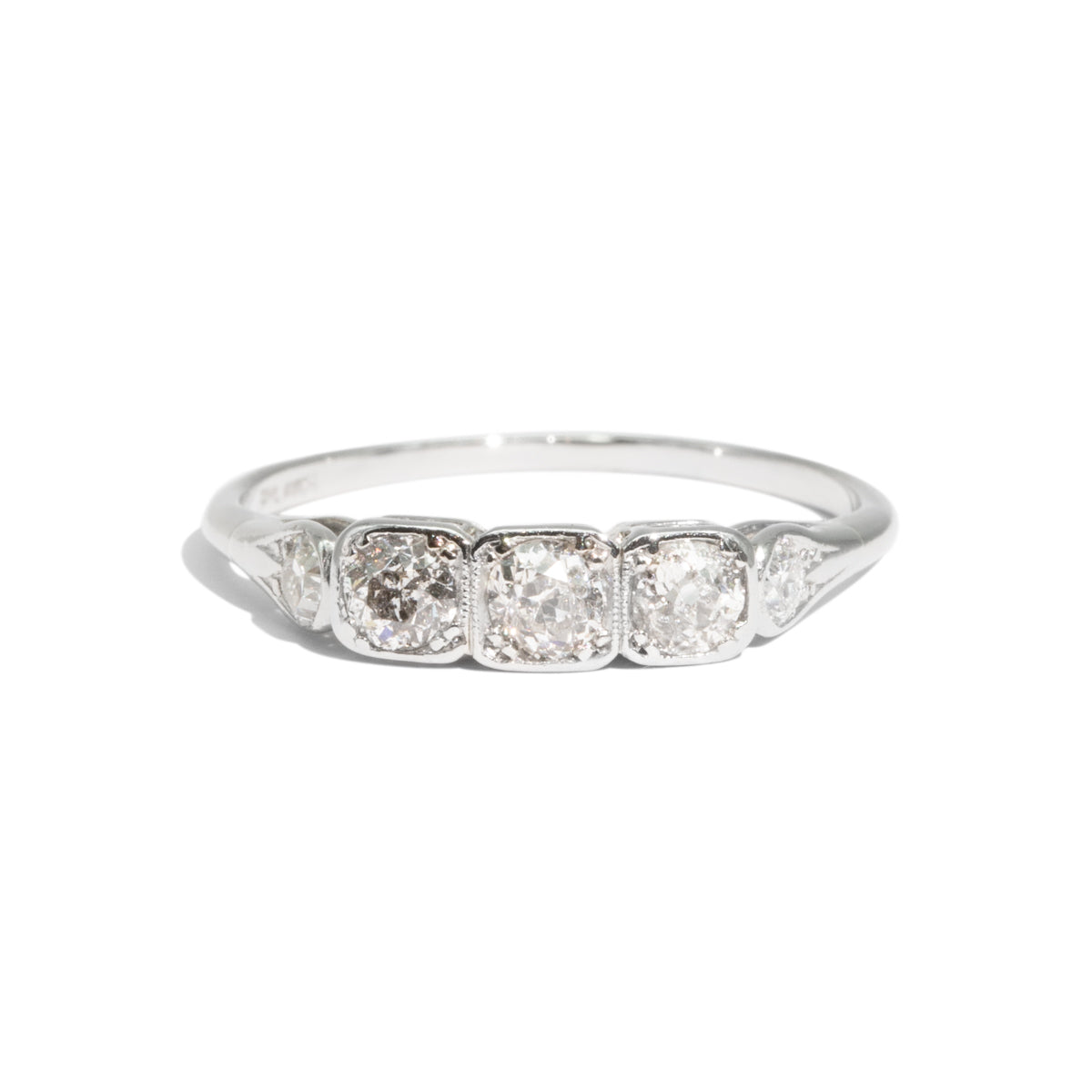 The Juliette Vintage Diamond Ring