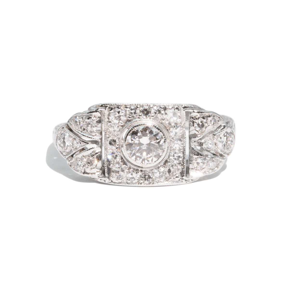 The Gwyneth Vintage Diamond Ring