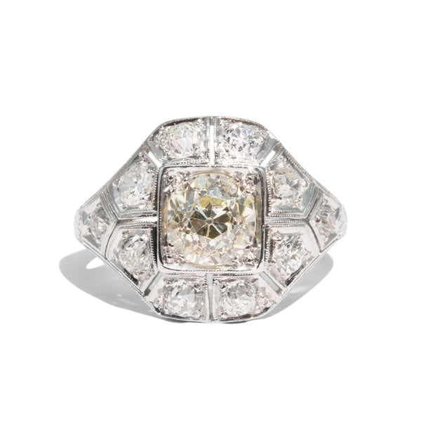 The Vera Vintage Diamond Ring