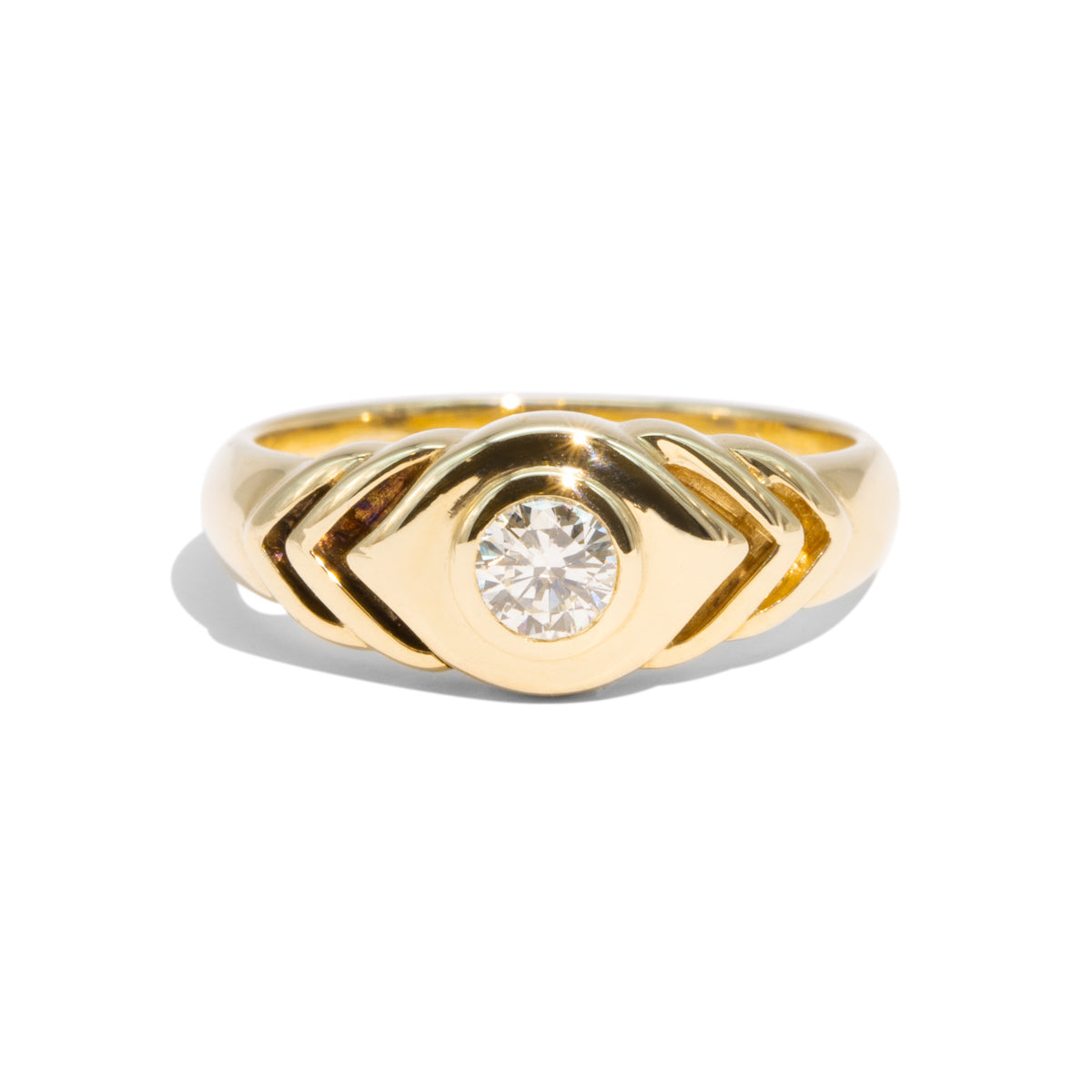 The Olivia Vintage Diamond Ring