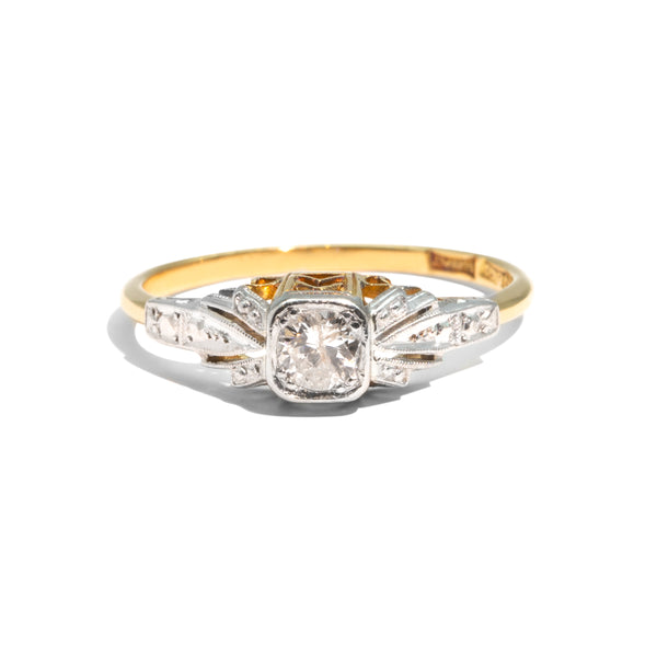 The Clara Vintage Diamond Ring