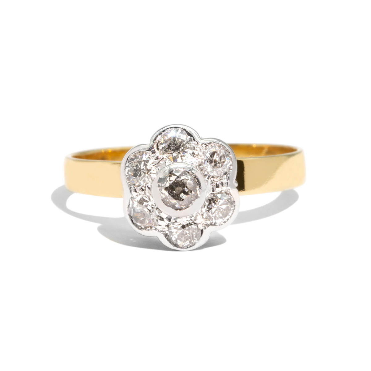 The Fleur Vintage Diamond Ring