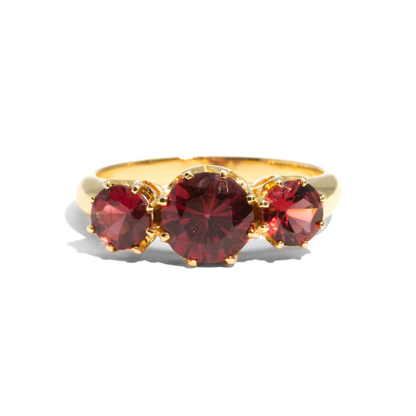 The Carmen Vintage Garnet Ring