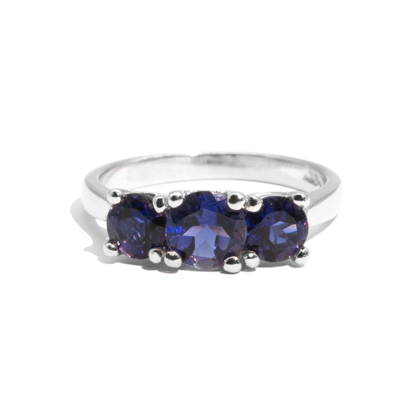 The Imogen Vintage Iolite Ring