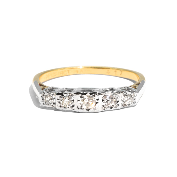 The Matilda Vintage Diamond Ring
