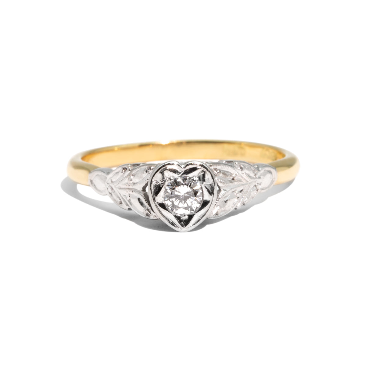 The Joy Vintage Diamond Ring
