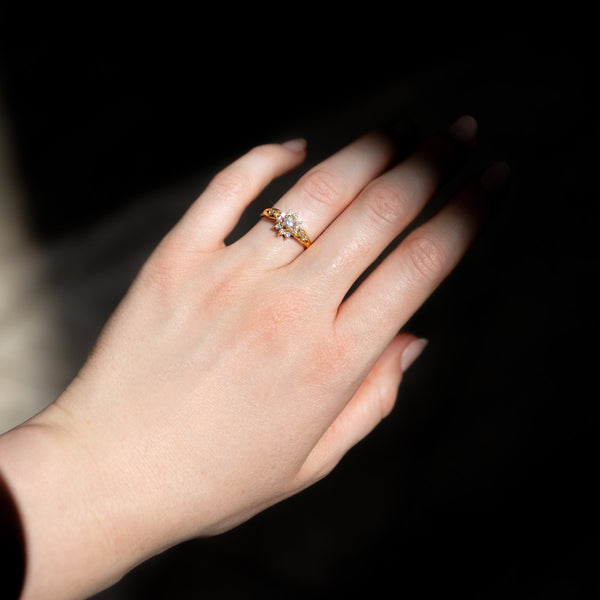 The Amelie Vintage Diamond Ring