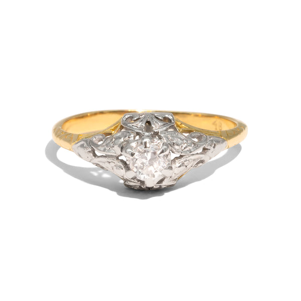 The Greta Vintage Diamond Ring