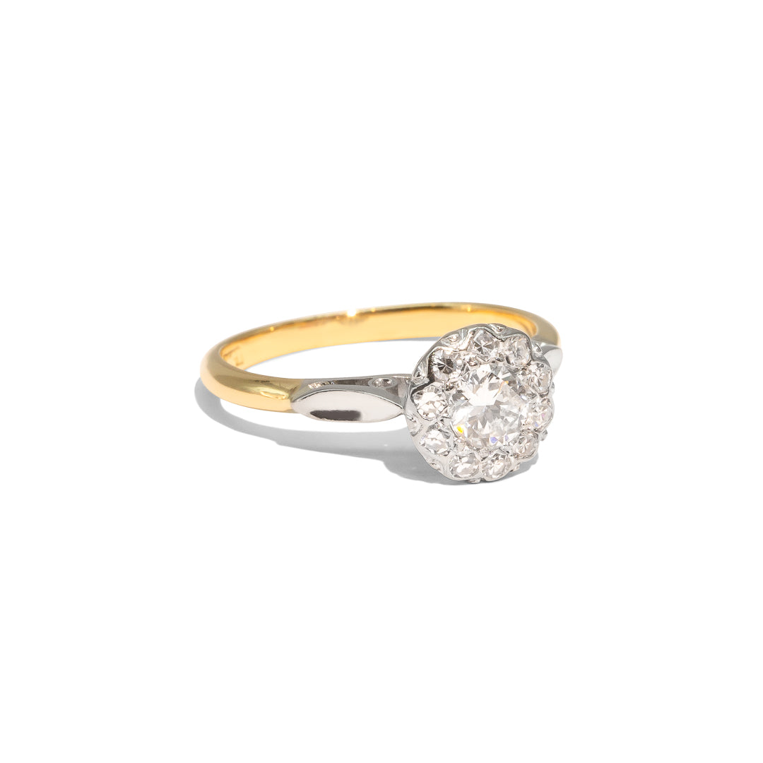 The Arabella Vintage Diamond Ring