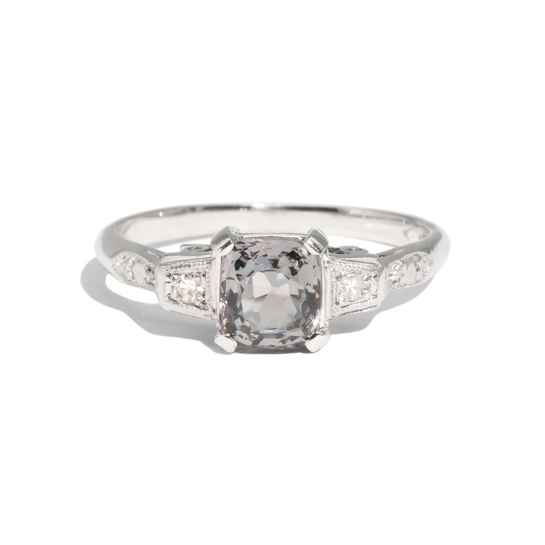 The Imogen Vintage Spinel & Diamond Ring