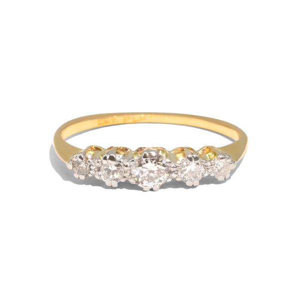 The Cadence Vintage Diamond Ring