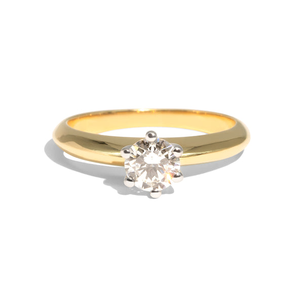 The Nina Vintage Diamond Ring