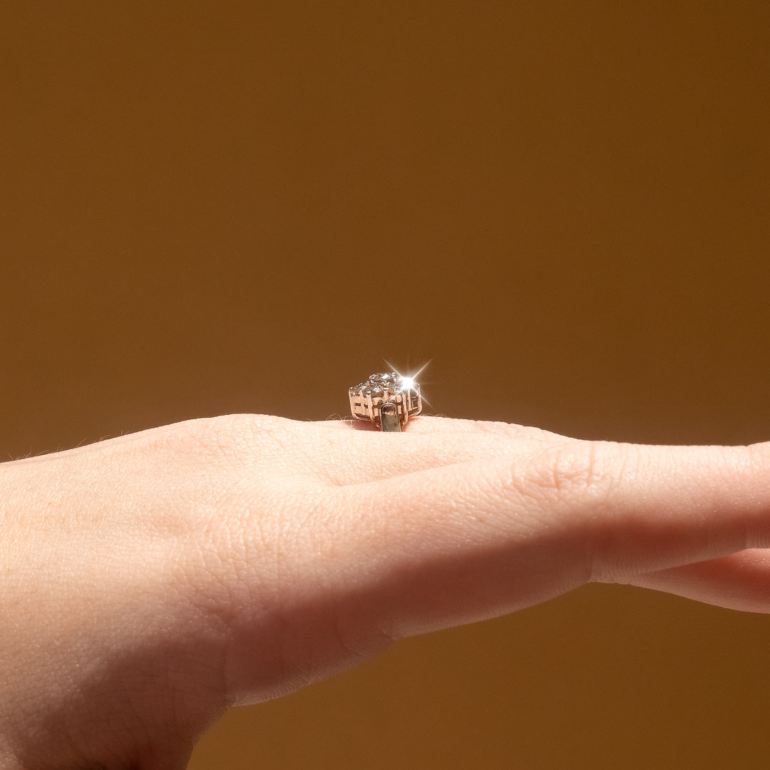 The Layla Vintage Champagne Diamond Ring